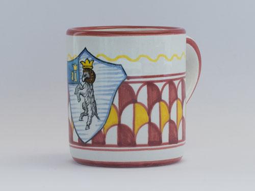 tazza ceramica contrade di siena