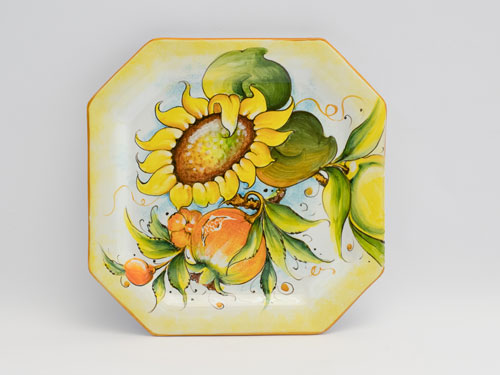 floral pattern large dish