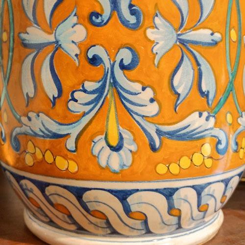 riproduzioni arte ceramica senese