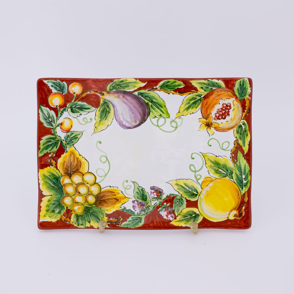 tray 1290:28x20 Top1 rosso
